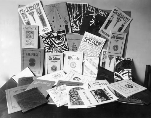 1929 display at the CSPA spring convention.