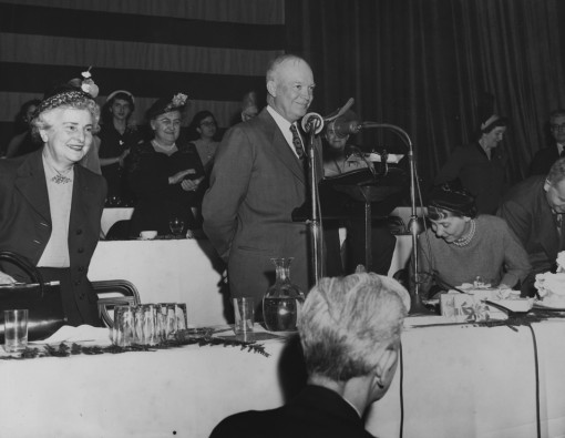 1949 Dwight D. Eisenhower speaking the the CSPA convention