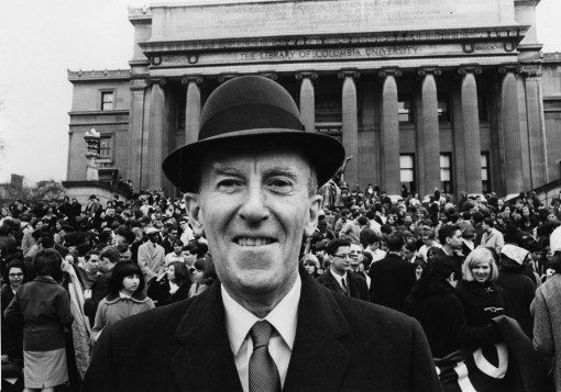 1970 Col. Joseph M. Murphy in front of Low Library immediately after the official convention photo.