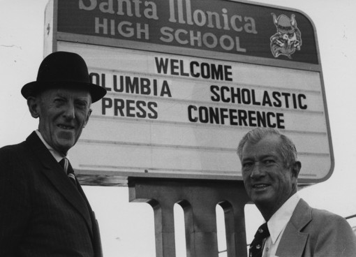 1977 Col. Joseph M. Murphy and Charles R. O'Malley travel to California for the CSPA west conference.