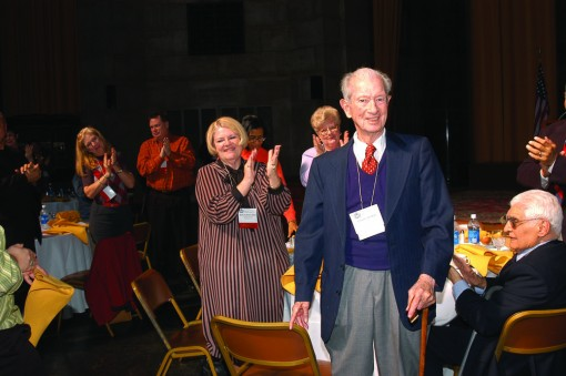 2006 Charles R. O'Malley is honored at the CSPA awards luncheon.