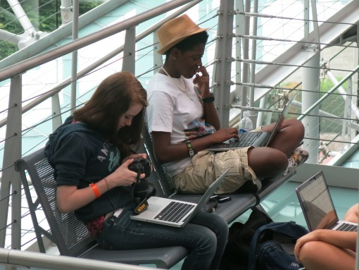 2013 SJW Students Working