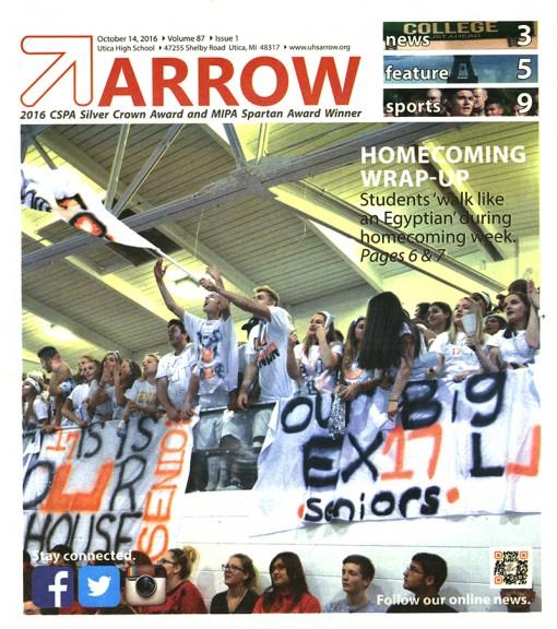 Arrow, Utica High School, Utica, MI