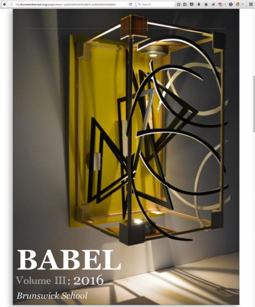 Babel | my.brunswickschool.org, Brunswick School, Greenwich, CT.