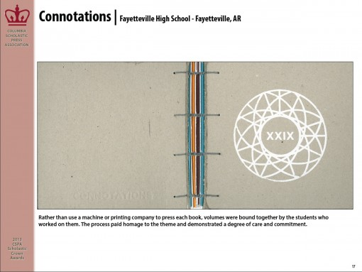 Connotations Magazines, Fayetteville High School, Fayetteville, AR