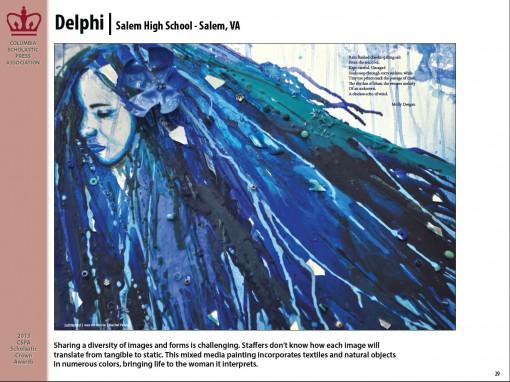 Delphi Magazine, Salem High School, Salem, VA