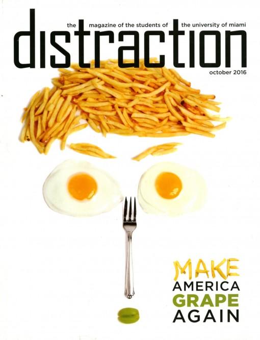 Distraction (print), University of Miami, Coral Gables, FL