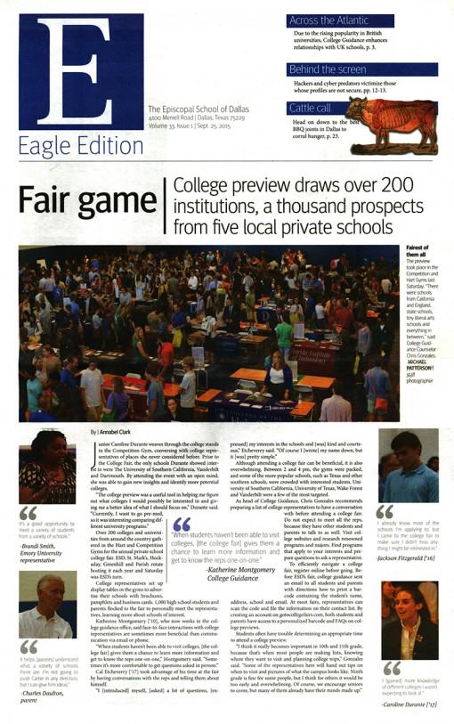 Eagle Edition-Episcopal School of Dallas