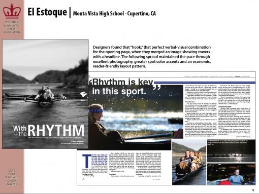 El Estoque Yearbook, Monta Vista High School, Cupertino, CA