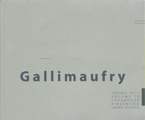 Gallimaufry, Cranbrook Kingswood Upper School, Bloomfield Hills, MI