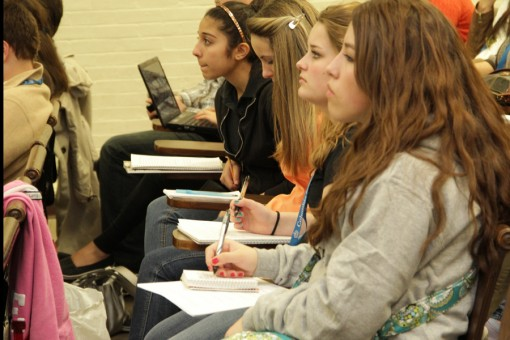 Students attended 334 sessions at the 2012 Scholastic Spring Convention.