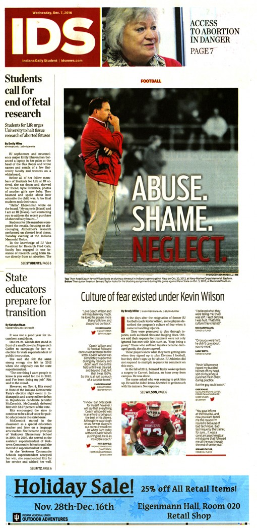 Indiana Daily Student | idsnews.com, Indiana University, Bloomington, IN