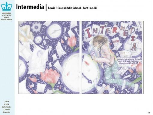 Intermedia, Lewis F. Cole Middle School, Fort Lee, NJ