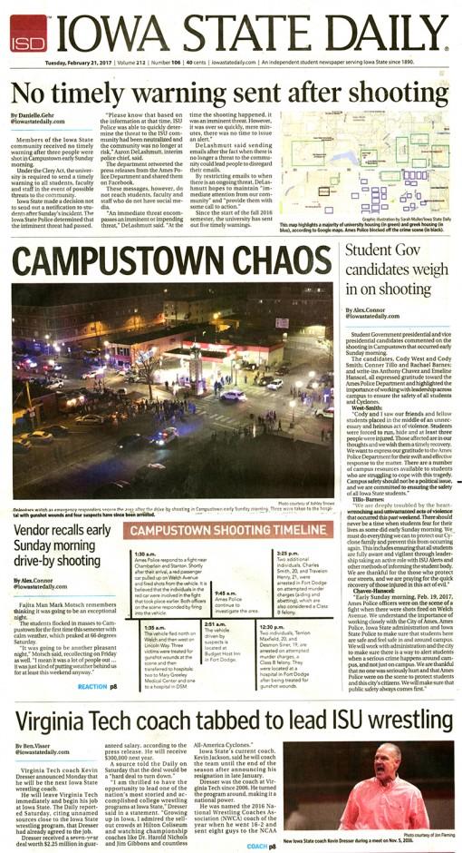 Iowa State Daily | iowastatedaily.com, Iowa State University, Ames, IA