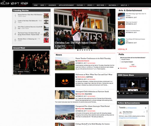 Niles West News | nileswestnews.org, Niles West High School, Skokie, IL