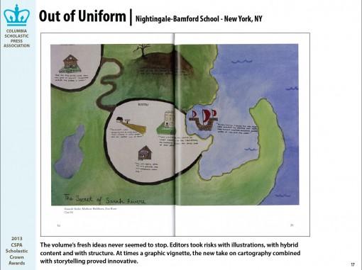 Out of Uniform Magazine Nightingale-Bamford School, New York, NY