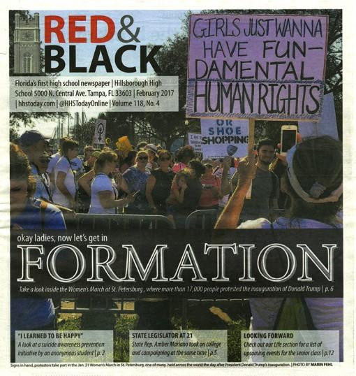 Red & Black | hhstoday.com, Hillsborough High School, Tampa, FL