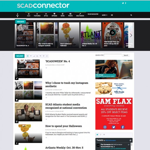 The Connector | scadconnector.com, SCAD Atlanta, Atlanta, GA