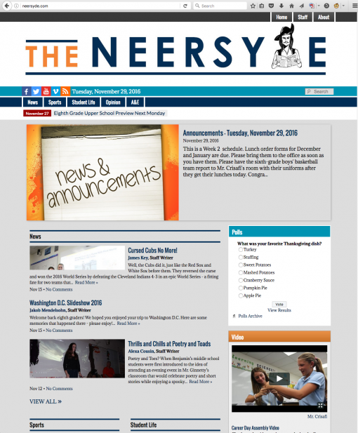 The Neersyde | neersyde.com, The Benjamin Middle School, North Palm Beach, FL.