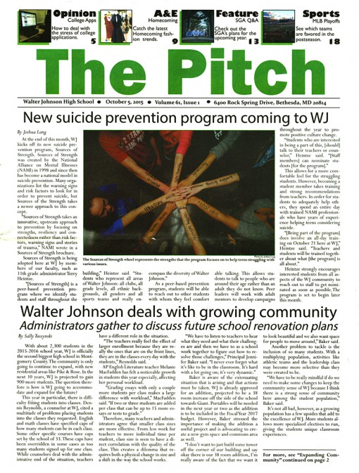 The Pitch-Walter Johnson High School