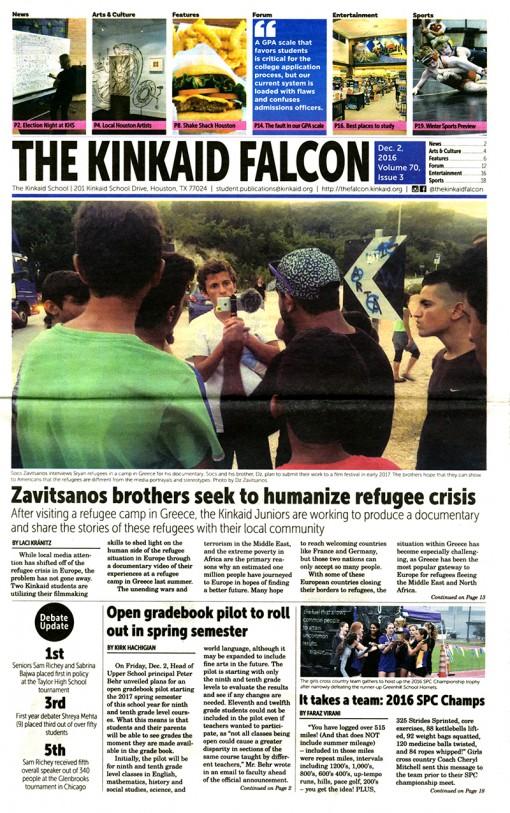 The Falcon, The Kinkaid School, Houston, TX