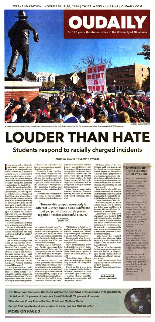The Oklahoma Daily | oudaily.com, University of Oklahoma, Norman, OK
