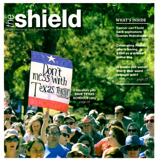 The Shield | macshieldonline.com, McCallum High School, Austin, TX
