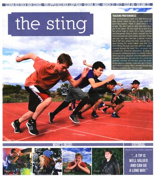 The Sting, Sedona Red Rock High School, Sedona, AZ