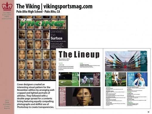 The Viking | vikingsportsmag, Palo Alto High School, Palo Alto, CA