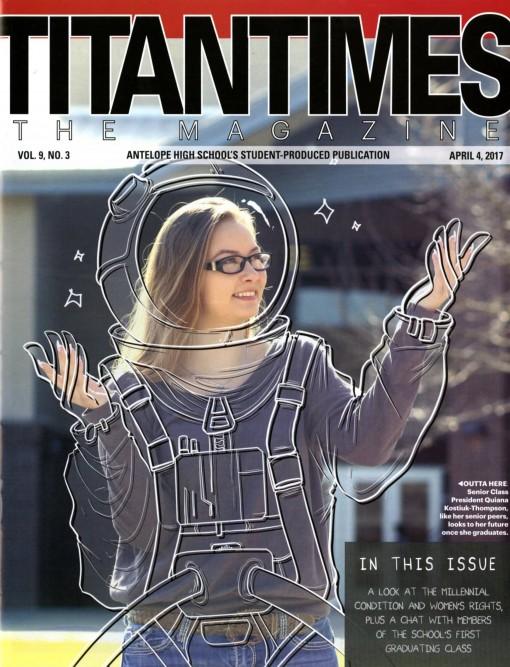 Titan Times, Antelope High School, Antelope, CA