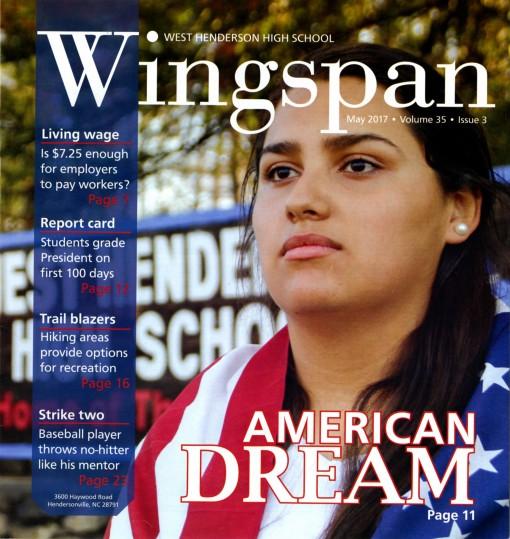 Wingspan, West Henderson High School, Hendersonville, NC