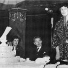 1936 Eleanor Roosevelt speaking at the CSPA convention.