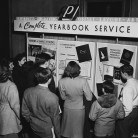 1947 yearbook exhibitor at the CSPA fall conference.