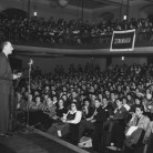 1950 Col. Joseph M. Murphy addressing delegates  at the CSPA fall conference.