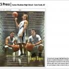 CS Press Newspaper, Cactus Shadows High School, Cave Creek, AZ