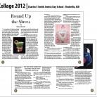 Collage Magazine, Charles E. Smith Jewish Day School, Rockville, MD