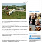 "2014 Gold Circle — High School Digital Media Breaking News DM1, Sophie Tulp, ""Pembroke Hill Bus Flips Causing Injuries,"" The Harbinger Online, Shawnee Mission East High School, Prairie Village, KS."