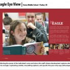 Eagle Eye View Yearbook, Sierra Middle School, Parker, CO