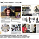 Echo Newspaper, Grand Blanc High School, Grand Blanc, MI