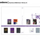 Jamboree Yearbook, Toby Johnson Middle School, Elk Grove, CA