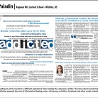 Paladin Newspaper, Kapaun Mt. Carmel School, Wichita, KS