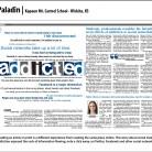 Paladin Newspaper, Kapaun Mt. Carmel School, Wichita, KS