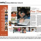 Sentry Yearbook, Robinson Middle School, Fairfax, VA