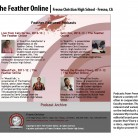 The Feather Online, Fresno Christian High School, Fresno, CA