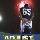 "2014 Gold Circle — High School Sports Feature Photo Y16, Parker Pamplin; ""Adjust,"" Hornet, Bryant High School, Bryant, AR."